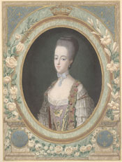 Lehigh University Lawrence Henry Gipson Institute - Portrait of Marie Antoinette